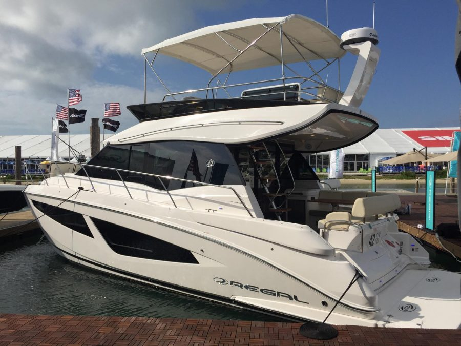 SOLD 2019 REGAL 42 FLY Available